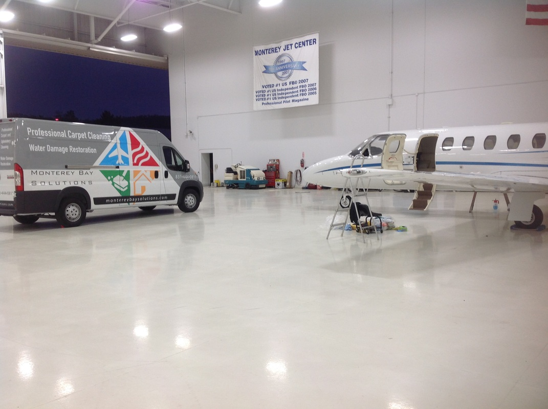 Aircraft Detailing Monterey Jet Center