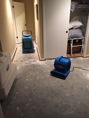 water damage restoration Carmel, CA